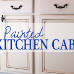 Painted Kitchen Cabinets – Chalk Paint!