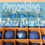 Organizing Christmas Decorations