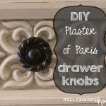 DIY Drawer Knob with Plaster of Paris
