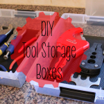 DIY Tool Storage Boxes