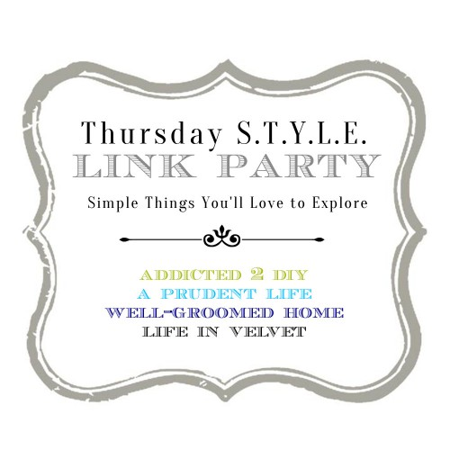 Thursday style link party