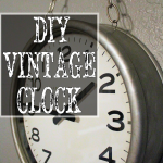 DIY Vintage-Inspired Clock