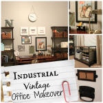 Industrial Vintage Office Make-Over