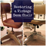 Restoring a Vintage Desk Chair