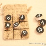 Rustic Tic-Tac-Toe: Kids Wedding Activity