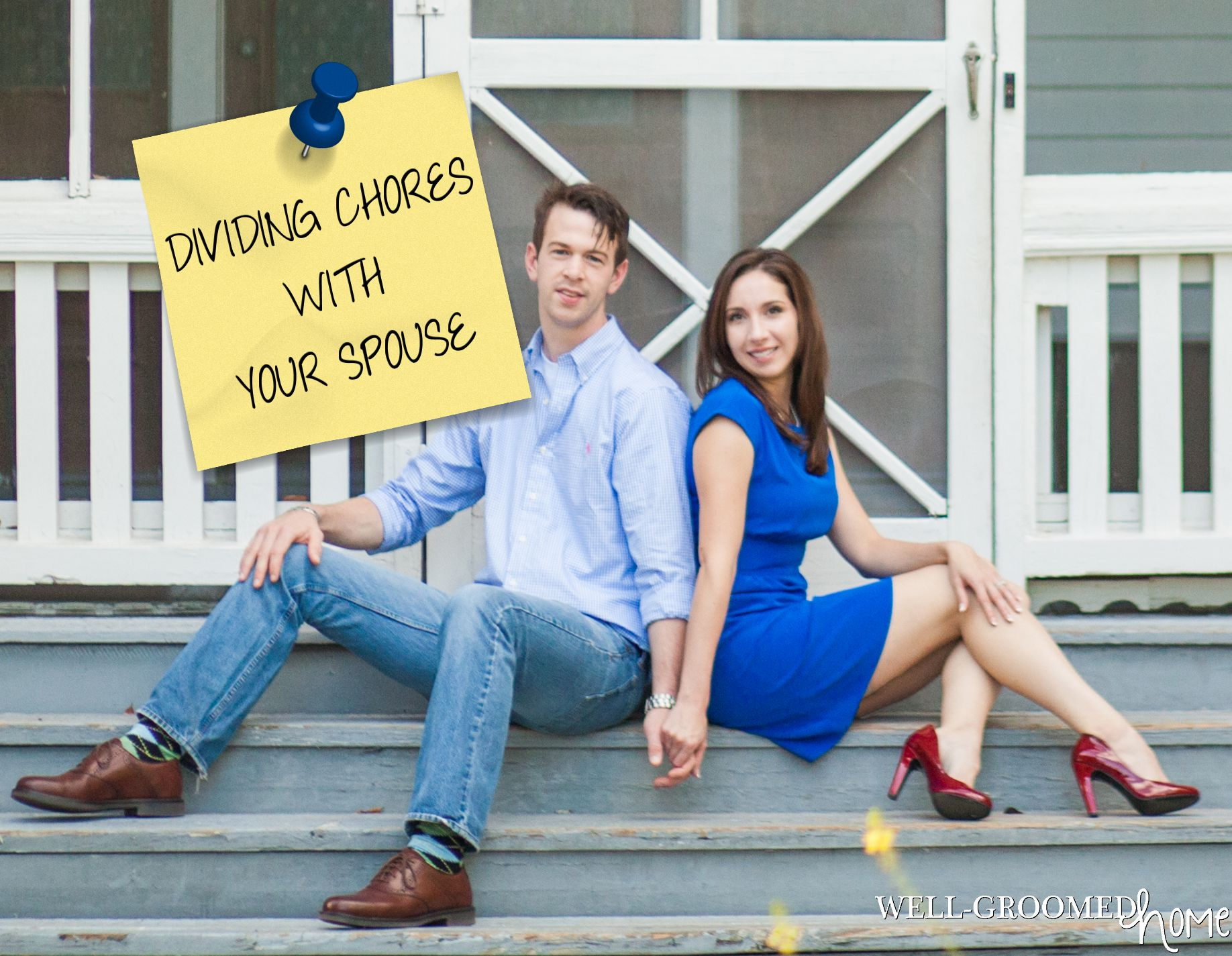 DIVIDING CHORES WITH YOUR SPOUSE