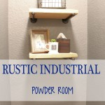 Rustic Industrial Power Room