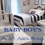Baby Boy's Nursery Reveal